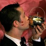Joseph Gordon-Levitt imitated actor Seth Rogan during the roast.